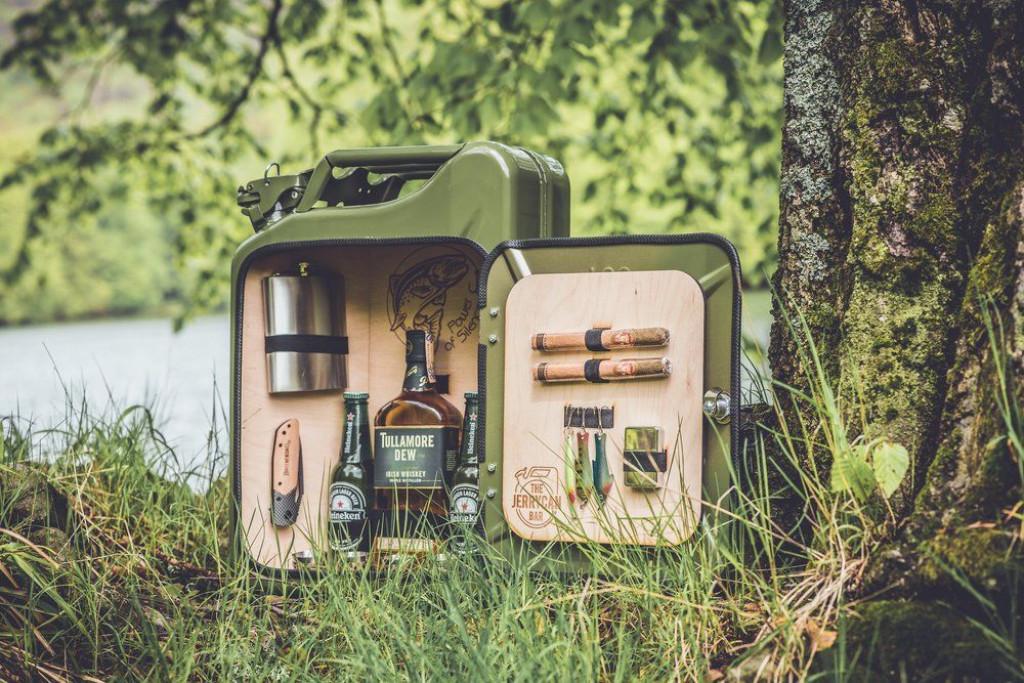Bespoke jerry can mini bar Green ©
